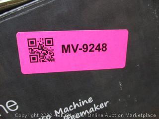 Espressione EM-1040 Stainless Steel Machine Espresso and Coffee Maker, 1.5 L, (Retail $350)