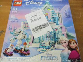 LEGO Disney Princess Elsa's Magical Ice Palace 43172 Toy Castle Building Kit