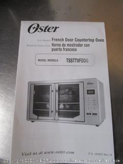 Oster Digital French Door Stainless Steel Toaster Oven (retail $249)