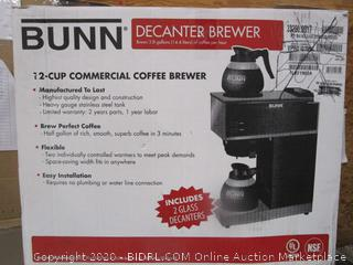 Bunn Decanter Brewer