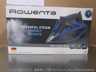Rowenta Powerful Steam Pro Clothes Iron