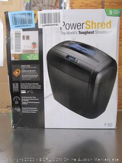 Power Shred Shedder