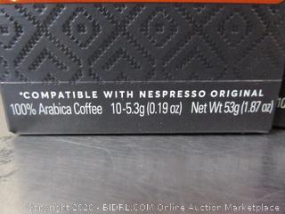 Peet's Aluminum Nespresso Original Coffee Capsules