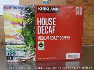 Kirkland Signature House Decaf Medium Roast Coffee Keurig K-Cups