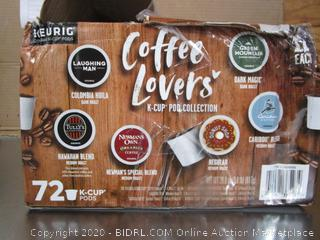 Keurig Coffee Lovers K-Cup Collection