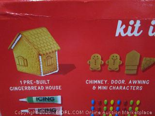 Pre-Built Gingerbread House