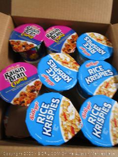 Box Lot Cups of Cereal
