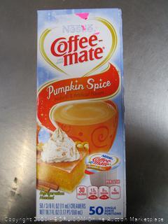 Nestle Coffee Mate Pumpkin Spice
