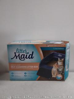 LitterMaid Multi-Cat Self-Cleaning Litter Box (online $103)