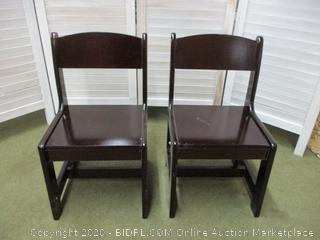 Two Childs Chairs