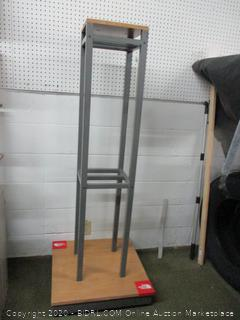 Retail Display Column on Casters