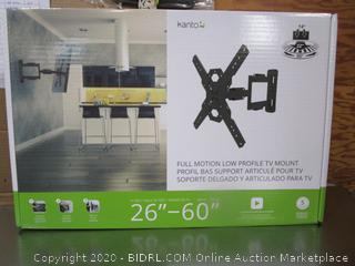 Kanto Full Motion Low Profile TV Mount
