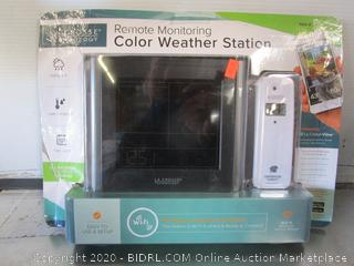 LaCrosse Technology Remote Monitoring Color Weather Station