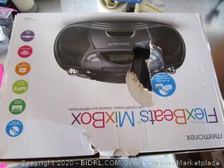 Memorex Flex Beats Mix Box