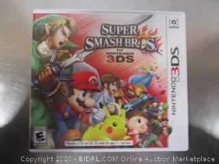 Nintendo 3DS Game Super Smash Bros