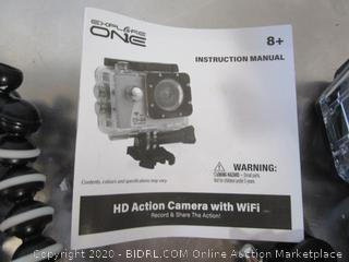 Explore One HD Action Camera w/ Wi-Fi