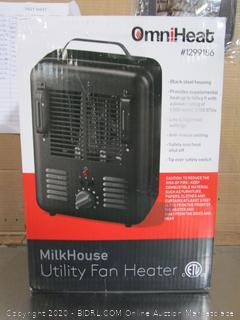 Omni-Heat MilkHouse Tility Fan Heater