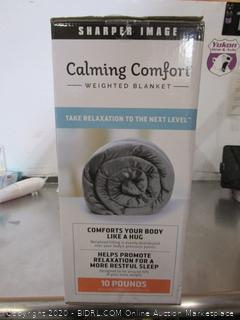 Sharper Image Calming Comfort Weighted Blanket