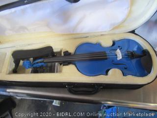 Mendini Blue Violin