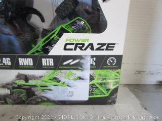 Power Craze RC Car - Green