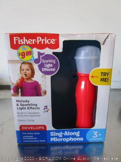 Fisher Price Sing Along Microphone