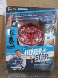 Hover Star Motion Controlled UFO - Red