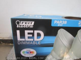 Feit Electric LED Dimmable PAR38 12W Bright White Replacement Bulbs