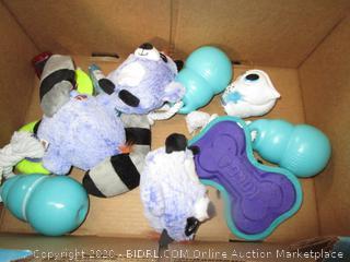 Misc. Box Lot Dog Toys