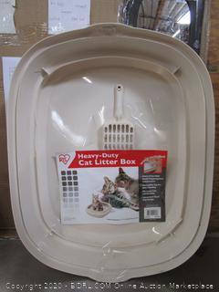 Iris Heavy-Duty Cat Litter Box