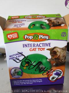 Pop Play Interactive Cat Toy