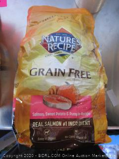 Nature's Recipe Grain Free Salmon Dog Food 4# Kibble