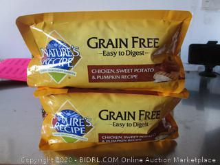Nature's Recipe Grain Free Chicken Dog Food 4# Kibble