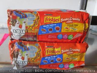 Friskies Tender & Crunchy Combo Kat Food Kibble