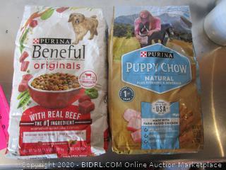 Purina Beneful Originals Beef Dog Food 3.5# Kibble