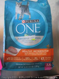 Purina One Purposeful Nutrition Cat Food Chicken Kibble
