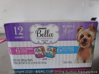 Bella Pampered Meals Small Dog Wet Food Trays
