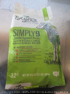 Purina Beyond Simply9 Lamb Dog Food 3.2# Kibble
