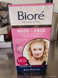 Biore Nose & Face Deep Cleansing Pore Strips