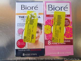 Biore Deep Cleansing Pore Strips