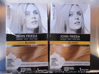 John Frieda Sheer Blonde Foam Color