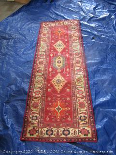 Ruggable Red Runner Rug