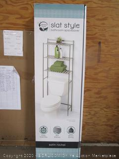 Slat Style Bathroom Space Saver