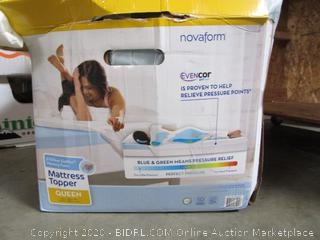 Novaform EvenCor GelPlus Memory Foam Mattress Topper