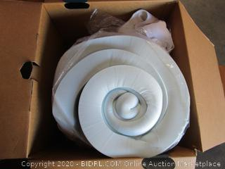 Fieldcrest Serene Comfort Foam Mattress Topper