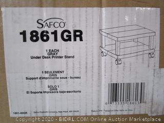 Safco Under Desk Printer Stand