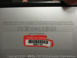 Apple Macbook Air Model A1370 (See Pictures)