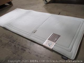 "Smart Dry - Memory Foam Bath Mat (24"" x 58"")"