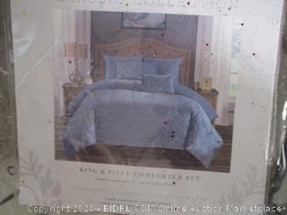 Classic Collection- Antalya- 6 Piece Comforter Set- King