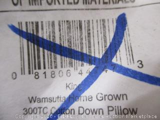 Wamsutta- 300TC Cotton Down Pillow