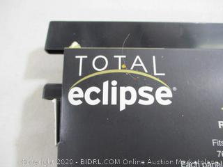 "Total Eclipse- !00% Blackout Rod Pocket Window Panels- Berry ( 38"" x 84"")"